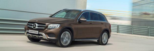 Prøv den lækre Mercedes GLC